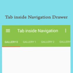Tab View inside Navigation Drawer image logicchip 3